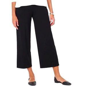 J Jill Wearever Collection Full Leg Cropped Pants